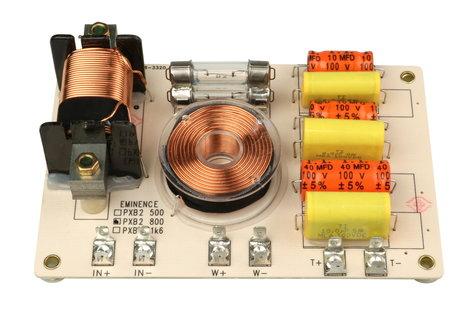 Eminence Speaker PXB2-800 2-Way 800Hz 12dB Crossover PXB2-800