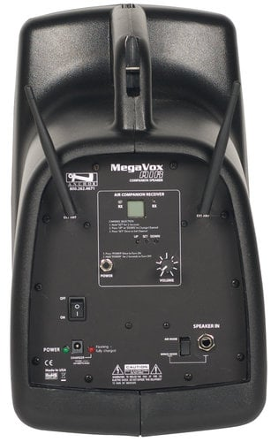 Anchor MEGA-8000XU2  MegaVox System with One AIR Wireless Transmitter and Two Wireless Receivers MEGA-8000XU2