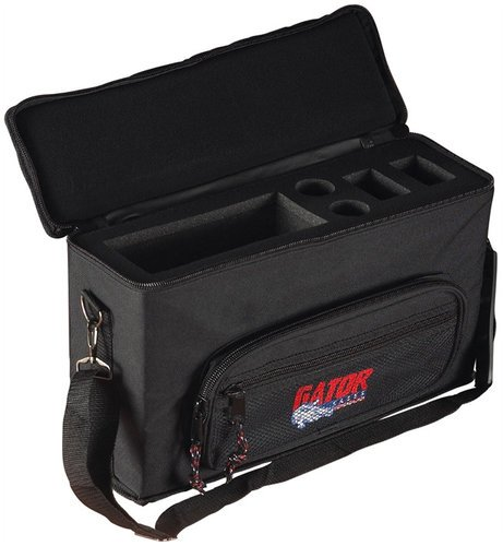 Gator Cases GM-2W Bag for 2 Wireless Microphone Systems GM2W