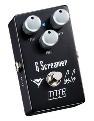 BBE G-Screamer [DISPLAY MODEL] Gus G Signature Overdrive Effects Pedal G-SCREAMER-DIS-01