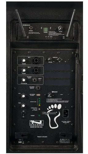 Anchor BIG-8000RU1  Bigfoot Line Array with built-in Bluetooth, AIR Wireless Receiver, and One Wireless Receiver BIG-8000RU1