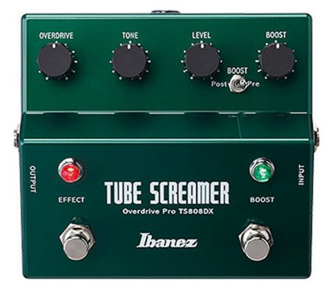 Ibanez TS808DX Tube Screamer Pro Overdrive Pedal TS808DX