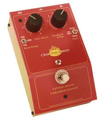 Chandler Limited Little Devil Colored Boost Boost Pedal for Guitar LITTLE-DEVIL-BOOST