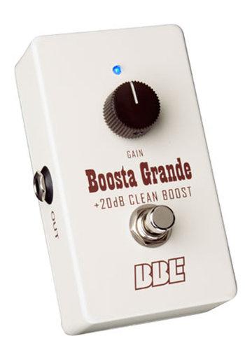 BBE BG-20 Boosta Grande Clean Boost Guitar Pedal BG-20