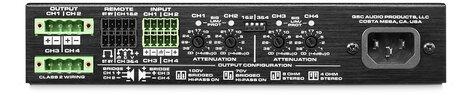 QSC SPA4-100  100W - 4-Channel Energy Star Power Amplifier SPA4-100