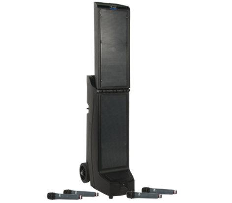 Anchor BIGFOOT-QUAD-HBMTA4 Bigfoot Quad BIG-8000CU4 with Bluetooth, CD/MP3 and 4 Wireless receivers BIGFOOT-QUAD-HBMTA4