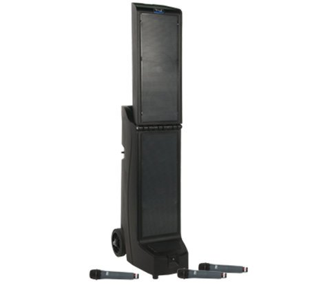 Anchor Bigfoot Triple Package BIG-8000CU3 with Bluetooth, CD/MP3 and 3 Wireless Receivers and EM-TA4F BIG-TRIPLE-EMTA4F