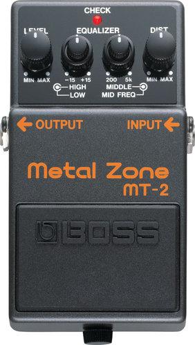 Boss MT2 Metal Zone Pedal MT2-BOSS