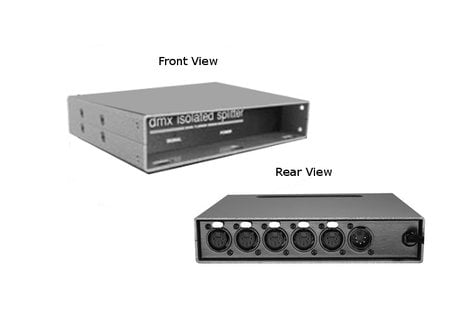 Doug Fleenor Designs 125-5-FT One Input, Five Outputs, Isolated Splitter and Amplifier 125-5-FT