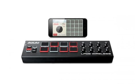 AKAI LPD8 Wireless Wireless Pad Controller LPD8-WIRELESS