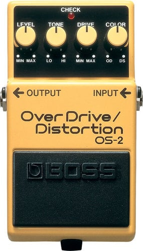 Boss OS2 Overdrive and Distortion Pedal OS2-BOSS