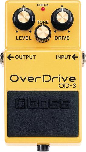 Boss OD-3 OverDrive Guitar Distortion Pedal OD3
