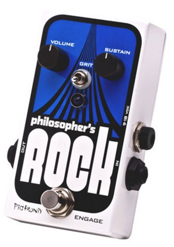 Pigtronix Philosopher's Rock All-Analog Compressor/Sustain/Drive Guitar Pedal PHILOSOPHERS-ROCK