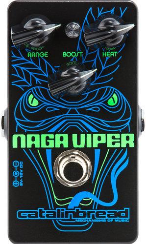 Catalinbread Pedals NAGA-VIPER Treble Boost Guitar Pedal NAGA-VIPER