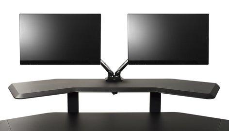 Ultimate Support NUC-MM2 Nucleus Series Studio Desk - Double Monitor Mount NUC-MM2