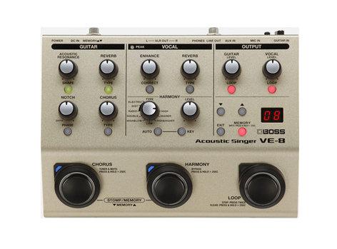 Boss VE-8 Acoustic Singer Pedal VE-8