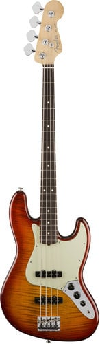 Fender 2017 Limited Edition American Professional Jazz Bass FMT Electric Bass with V-Mod Single-Coil Jazz Bass Pickups JBASS-AMPRO-FMT-LTD