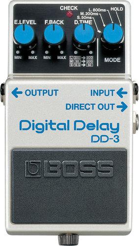 Boss DD3-BOSS Digital Delay Pedal DD3-BOSS