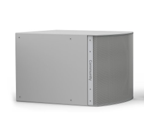 """Community IS6-118 Weather-Resistant Medium Power 18"""" Subwoofer in Grey IS6-118WR"""