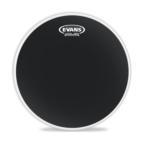 "Evans TT16RBG 16"" Resonant Black Tom Drum Head TT16RBG"