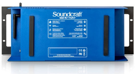 Soundcraft Ui24R 24 Channel Rackmount Mixer with WiFi and USB interface UI24R