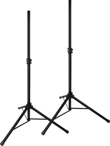 Ultimate Support JS-TS50-2C  Pair of JamStands Series Tripod Speaker Stands with Personalized Colored Accent Bands JS-TS50-2C