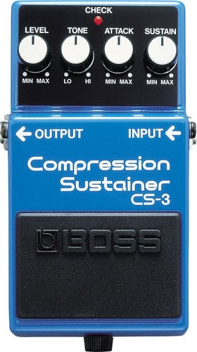 Boss CS-3 Compression Sustainer Pedal CS3-BOSS