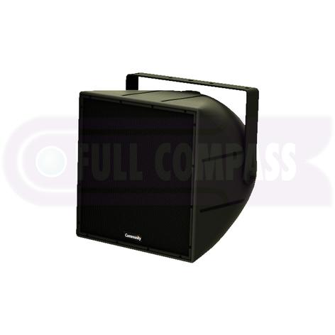 Community R.5COAX99B 2-Way Coaxial Weather-Resistant Full-Range Loudspeaker in Black R.5COAX99B