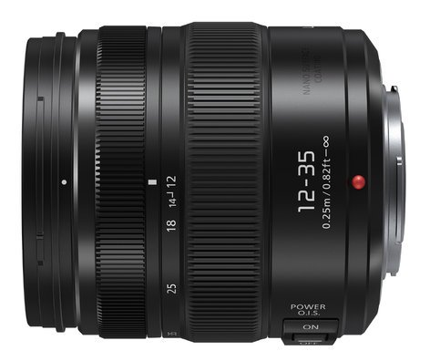 Panasonic HHSA12035 LUMIX G X Vario Lens Micro Four Thirds 12-35mm - F2.8 II ASPH Standard Zoom Lens HHSA12035