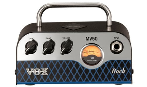 Vox Amplification MV50 Rock 50-Watt Mini Head MV50CR