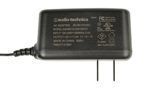 Audio-Technica 927701660 Power Supply for ATW-3100, ATW-R2100, ATW-R310 927701660
