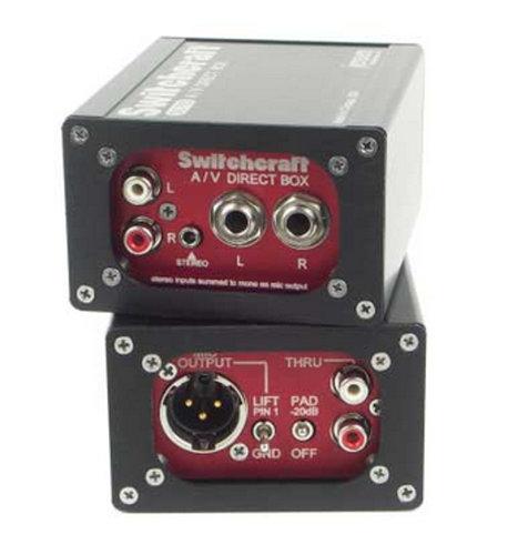 Switchcraft SC700CT DI Box, RCA, TS and Mini-TRS inputs SC700CT