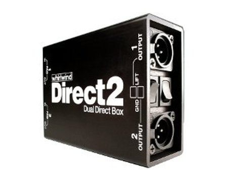 Whirlwind DIRECTOR-II Dual 2-Channel Direct Box DIRECTOR-II
