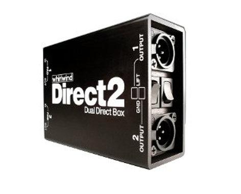 Whirlwind DIRECTOR-II Dual 2-Channel Direct Box DIRECTOR-II