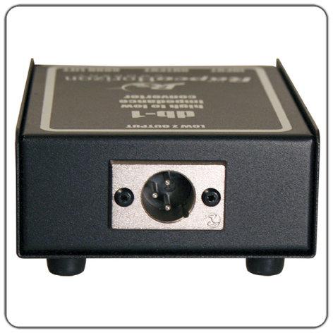 RapcoHorizon Music DB1 Straight Line Passive DI Box DB1