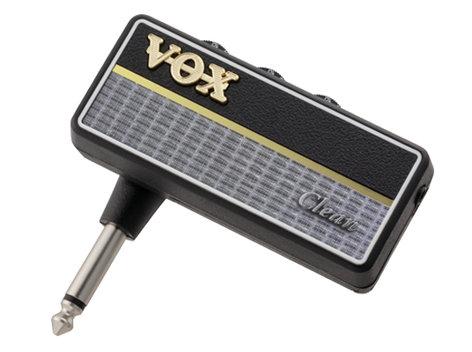 Vox Amplification amPlug 2 Clean Headphone Guitar Amplifier AP2CL