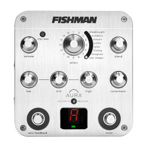 Fishman AURA-SPECTRUM-DI Instrument Preamp AURA-SPECTRUM-DI