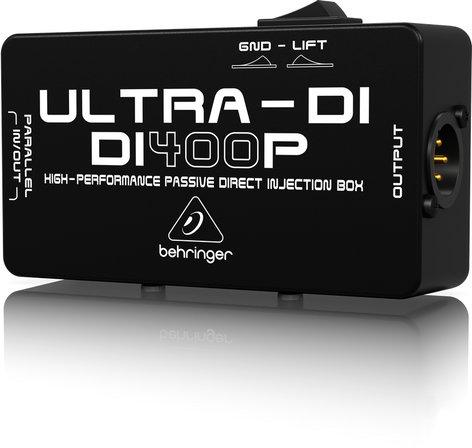 Behringer DI400P-ULTRA-DI DI400P ULTRA-DI DI400P-ULTRA-DI