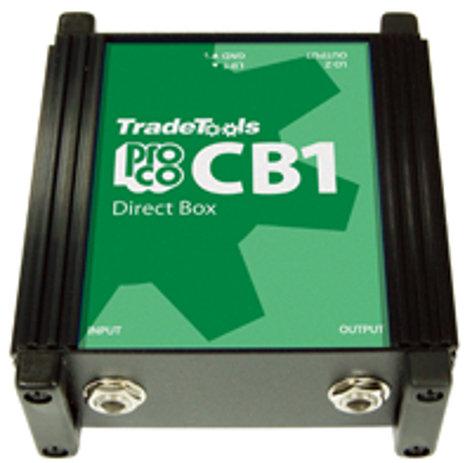 Pro Co CB1 Passive Direct Box CB1
