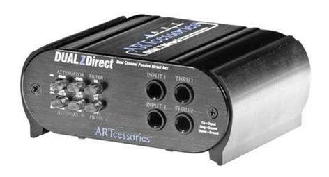 ART DUAL-Z-DIRECT DUALZDirect Dual-Channel Passive DI Box DUAL-Z-DIRECT