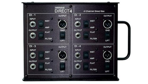 Whirlwind DIRECT4 4-channel Direct Box DIRECT4