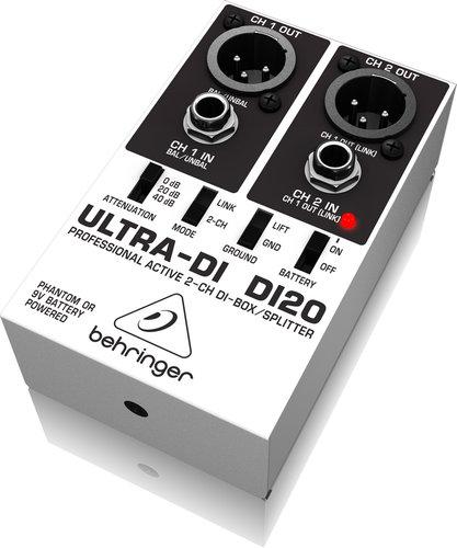 Behringer DI20 2-Channel Direct Box/Splitter DI20