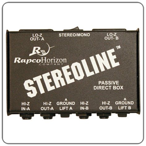 RapcoHorizon Music STL-1 Stereo Direct Box STL-1