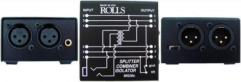 Rolls MS20c Mic Splitter / Combiner / Isolator MS20C