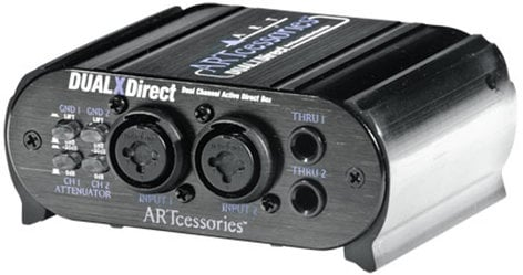 ART DUAL-X-DIRECT DUALXDirect Dual-Channel Active Direct Box DUAL-X-DIRECT