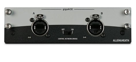 Allen & Heath gigaACE dLive Audio Networking Card M-GIGAACE-A
