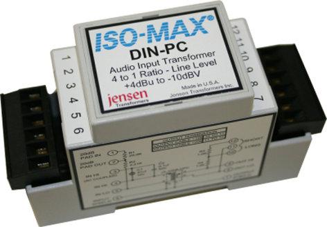 Jensen Transformers DIN-PC  Single Channel Ground Isolator DIN-PC
