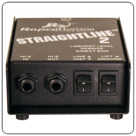 RapcoHorizon Music SL-2 Straightline-2 Passive Direct Box SL-2