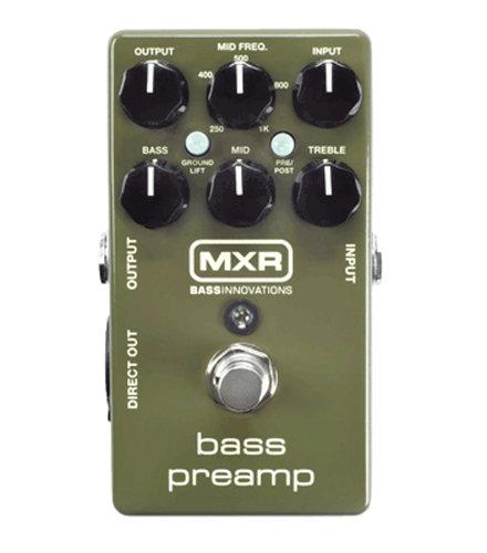 MXR Pedals M81 Bass Preamp Pedal M81-MXR