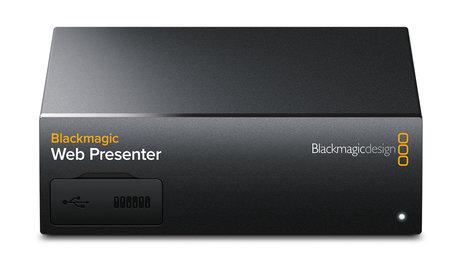 Blackmagic Design Web Presenter Professional Video Streaming Down Converter BMD-BDLKWEBPTR